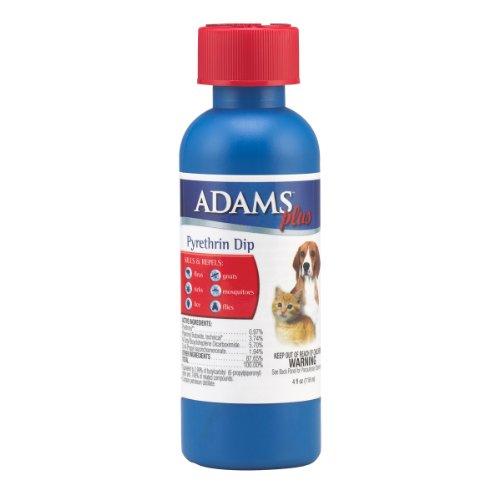Adams Plus Pyrethrin Dip 4 ounce