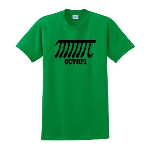 Octopi T-Shirt Large Green