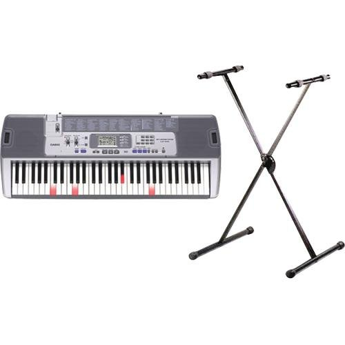 Casio Lk-100Stad Learning Keyboard With Stand And Ac Adapter