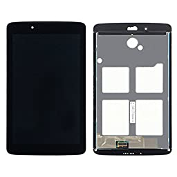 LCD Display Touch Screen Digitizer Assembly Black Replacement Part for LG G PAD 7.0 V400