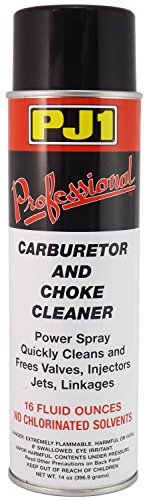 PJ1 40-1 Pro Carb and Choke Cleaner (Aerosol), 16 oz (Motorcycle Carburetor Cleaner compare prices)