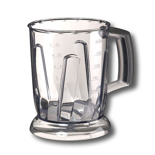 BRAUN JUG CONTAINER BC - For MR5000 MR6000 hand blender - 1000ml