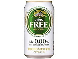 0.00% Alcohol-free Beer 【KIRIN FREE】(350ml×24)