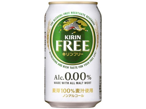 0.00% Alcohol-free Beer 【KIRIN FREE】(350ml×24) (Alcohol Beer compare prices)