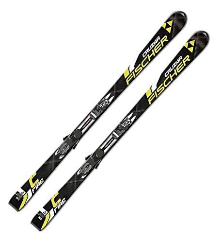 Ski Fischer Cruzar Fire oder Cruzar Pulse FP9 On Piste Rocker inkl. Bindung RS10 PR