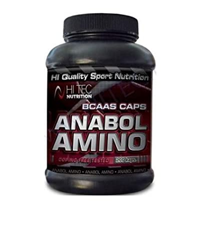 Hoch dosierte BCAA Amino Anabol 200 Kapseln MEGA in CAPS