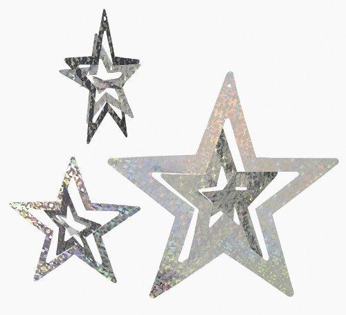 Fun Express Foil Silver Stars Set (1 Dozen)