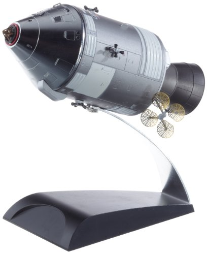 NASA アポロ8号 CSM (司令船 機械船) (1/72スケール 塗装済ダイキャストモデル完成品)