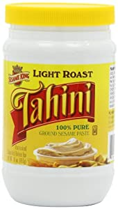Sesame King Tahini Light Roast, 16-Ounce (Pack of 4)