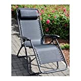 Lounger / Recliner / Relaxer Reclining Chair Textoline For Garden Or Patio