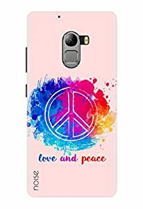 Noise Designer Printed Case / Cover for Lenovo Vibe K4 Note / Quotes/Messages / Peace Out Design