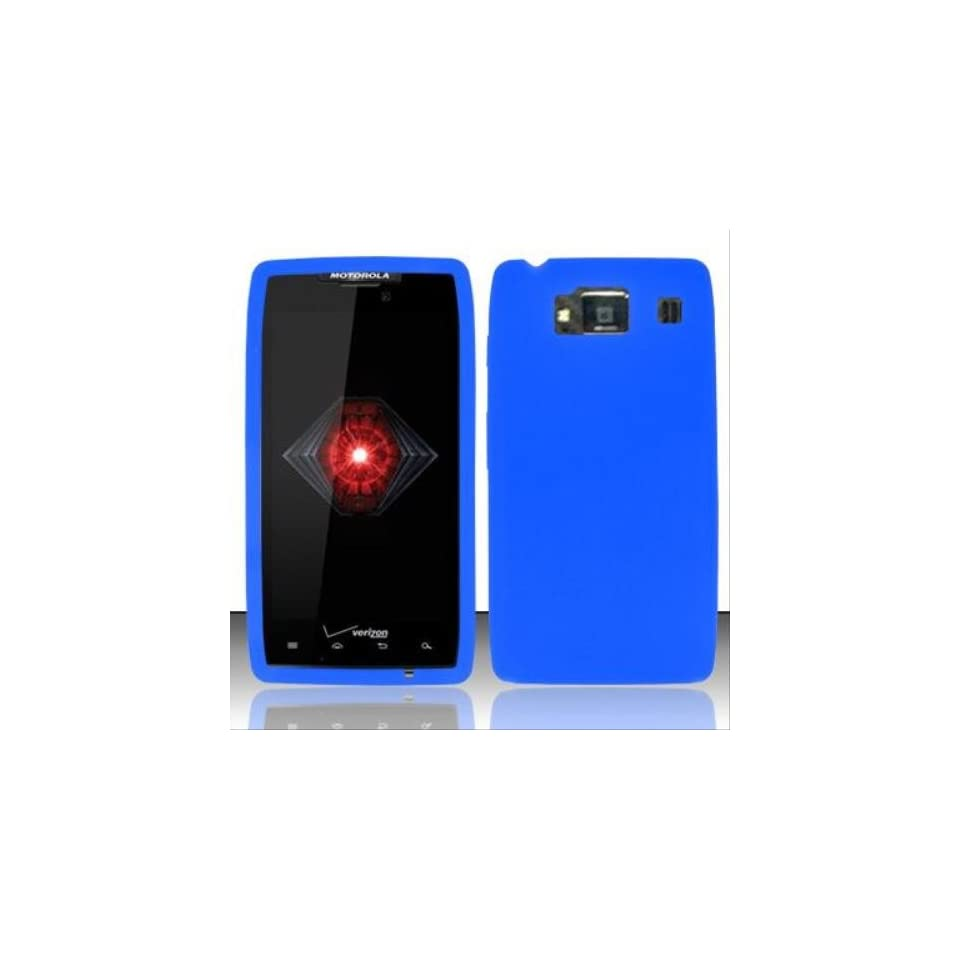 Blue Silicon Case for MOTOROLA Motorola Droid Razr HD XT926
