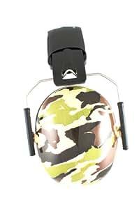 Banz Funky Ear Protectors - Camo Green