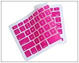 Silicone Keyboard Cover for MacBook apple mac 13″-15″ Pink