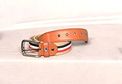 Arrison Fashion Collection Cream Stretchable Belt (For MEN)