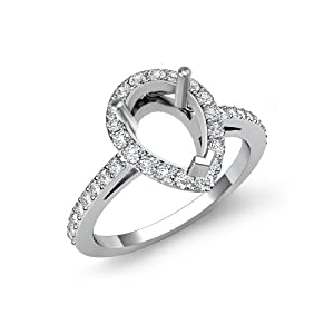 0.45 ct Round Cut Diamond Engagement Ring, F - G Color, VS1 - VS2 Clarity (Platinum) 5.4g