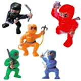 Ninja Toy Figures - Lot of 20 Tiny Figures