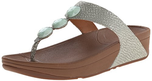 Fitflop Petra (Leather) da donna, Blu (Blue (Lake Blue)), 38 EU / 5 UK
