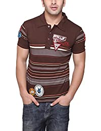 Aventura Outfitters Men's Polo (Brown)