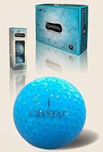 FL Golf Ladies Crystal Golf Balls 1 Dozen - Aqua from FL Golf