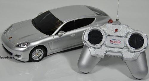 Jamara RC Porsche Panamera – Maßstab.: 1:24 – ferngesteuert – komplett Set – Farbe.: silber – LIZENZ-NACHBAU günstig bestellen