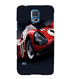 printtech Superfast Car Back Case Cover for Samsung Galaxy S5 G900i::Samsung Galaxy S5 i9600::Samsung Galaxy S5 G900F