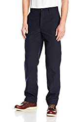Bulwark Flame Resistant 6 oz Nomex IIIA Mens Work Pant with Button Closure