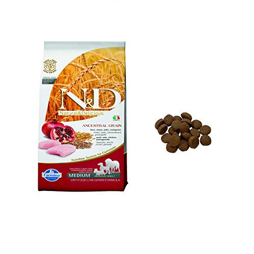 FARMINA - N&D LOW ANCESTRAL GRAIN ADULT MEDIUM POLLO & MELOGRANO 2,5 KG. - 1759