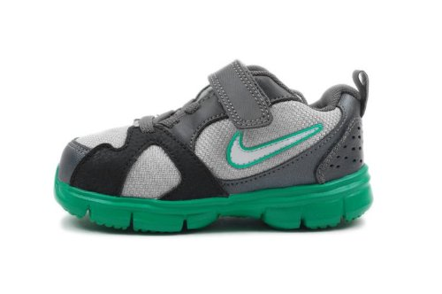 Nike Kids Endurance Trainer (TD) Grey Green 429908-008 4c