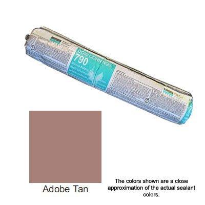 adobe-tan-dow-corning-790-silicone-building-sealant-sausage-by-corning