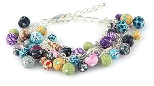 Viva Beads Bracelet Beaded Mesh Chain Festival * Beads Handmade Fimo Clay