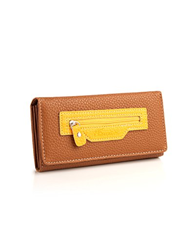 Voylla Fabulous Brown PU Leather Wallet