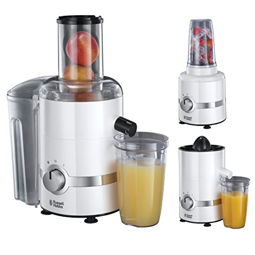 Russell Hobbs 22700-56 Ultimate 3 in 1 Juicer, Frullatore/Centrifuga/Spremiagrumi