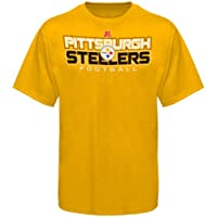 NFL Pittsburgh Steelers All Time Great IV T-Shirt - Gold from Nutmeg