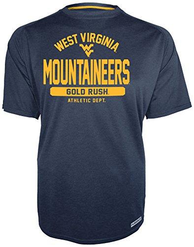 NCAA West Virginia Mountaineers Men's Short Sleeve Crew Tee