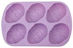 Wilton Silicone Mini Decorated Egg Mold