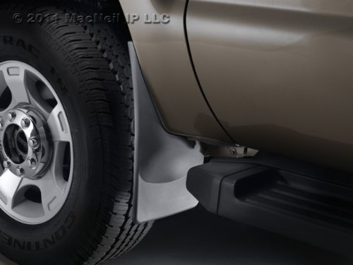 2007 - 2012 Chevy Suburban Black No Drill Front Mudflap (2014 Chevy Suburban Mud Guards compare prices)