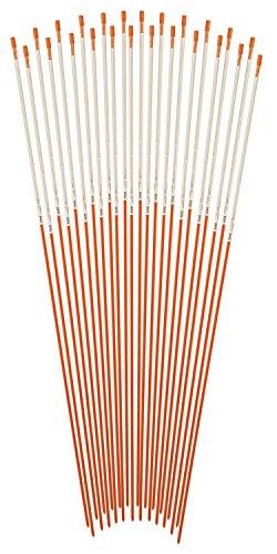 blazer-381odm-24-orange-48-inch-fiberglass-pole-reflective-driveway-marker-pack-of-24