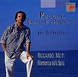 プッチーニ : 交響的前奏曲 / 交響的奇想曲
