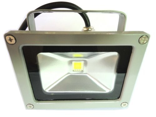 LENBO 10W 12V DC Warm White LED Flood light High Power Waterproof Outdoor Lights Grey Case LW2