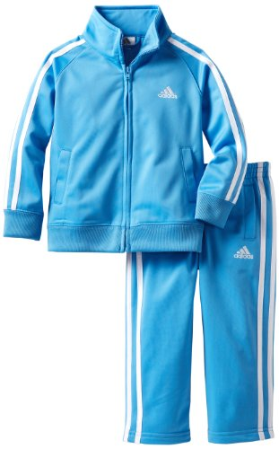 Adidas Boys 27 Itb Iconic Tricot Set, Bright Blue, 2T Picture
