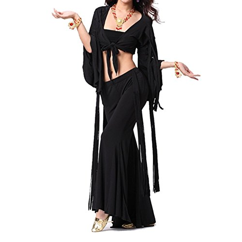 BellyLady Belly Dance Tribal Wrap Top, Halloween Costume