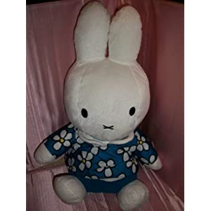 Giant Miffy Soft Toy - Blue