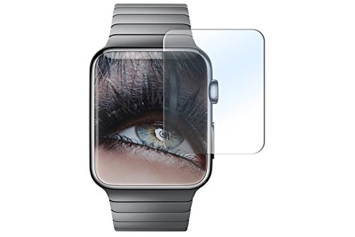 Proteggi schermo in vetro temperato per Apple Watch (38 mm) - Pellicola protettiva Salvaschermo