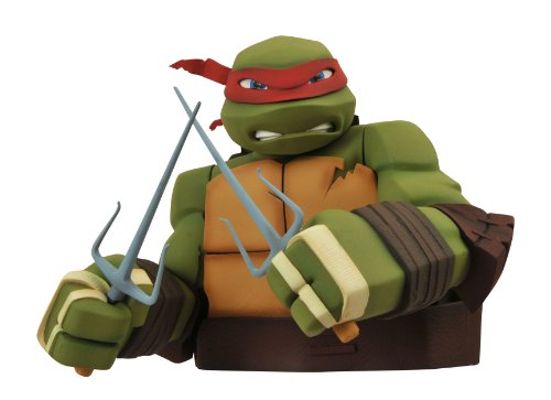 Diamond Select Toys Teenage Mutant Ninja Turtles: Raphael Bust Bank