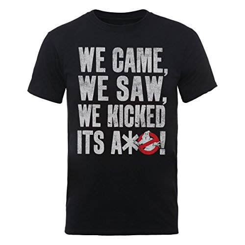 Ghostbusters Men's We Came We Saw Short