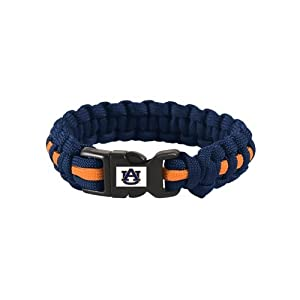 Auburn Tigers Official NCAA L XL 9 Long Survival Bracelet by WinCraft