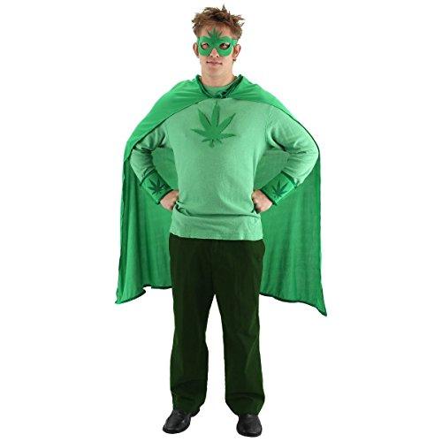 GSG Weed Man Kit Costume Adult Mens Halloween (Tuxedo Adult Womens Costume Kit)