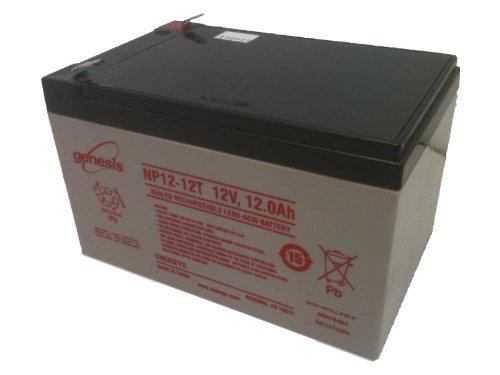 EnerSys Genuine NP12-12T 12 V 12 Ah GENESISTM NP Battery w/ F2 Terminals