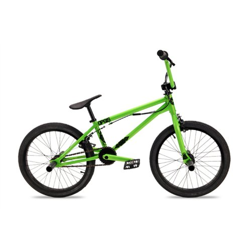 Dk Opsis Bmx Bike With Black Rims (Green, 20-Inch) & FREE MINI TOOL BOX (fs)